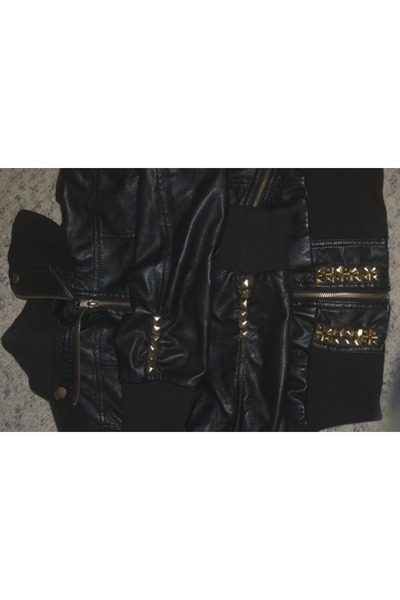 black unknown jacket