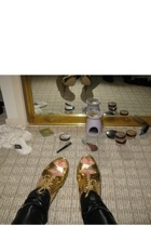 shoes - leggings
