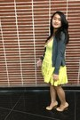 Neutral-wedges-old-navy-shoes-pink-mine-dress-yellow-forever-21-dress