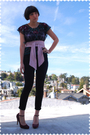 Black-blouse-pink-american-apparel-accessories-black-pacsun-jeans-purple-n