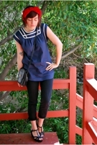 blue sailor tunic lark & wolff by steven alan at urban outfitters blouse