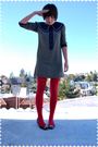Blue-lanz-originals-dress-red-tabio-stockings-black-juicy-couture-shoes