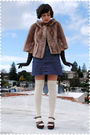 Brown-coat-blue-heritage-1981-dress-brown-gloves-beige-target-socks-brow