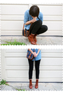 Blue-forever-21-blouse-blue-dooney-bourke-purse-black-pacsun-jeans-brown