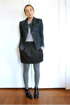 esprit from like 2001 jacket - Gap on sale sweater - American Apparel skirt - ca
