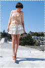 Orange-modcloth-cardigan-beige-dress-brown-shoes