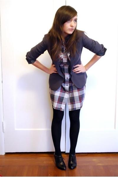 j crew on ebay blazer - quicksilver dress - wolford on ebay stockings - aldo on