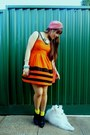 Vintage-retro-safari-dress-k-mart-boots-turban-sportsgirl-hat