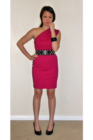 American Apparel dress - Michael Michael Kors shoes - Forever 21 belt