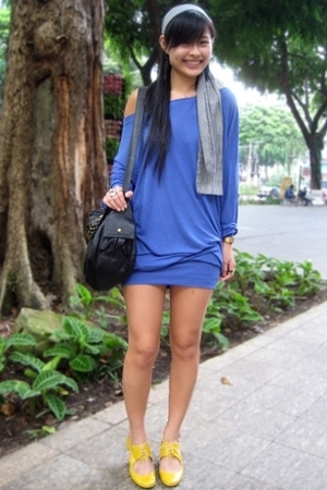 Pull & Bear dress - Schu shoes - f21 accessories
