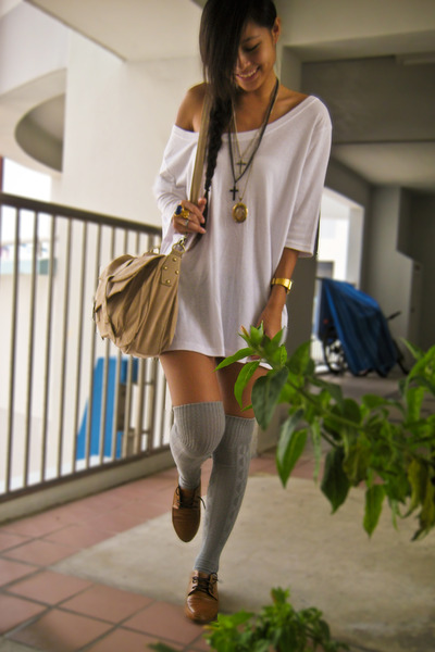 gold diva accessories - black diva accessories - silver cotton on socks