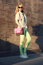 White-converse-shoes-chartreuse-necessary-clothing-jeans