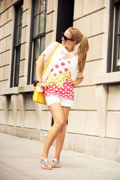 OASAP dress - VJ Style bag - naughty monkey sandals