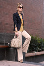 Navy-h-m-blazer-nude-remi-emmy-bag-mustard-necessary-clothing-blouse