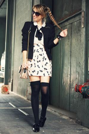 light pink H&M Trend skirt - black I love shopping shoes - black H&M blazer