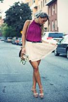 H&M skirt - H&M bag - Bought in New York blouse - H&M belt