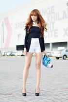 worn as top Korean Rose dress - Vantan Manila shorts - Call it Spring heels