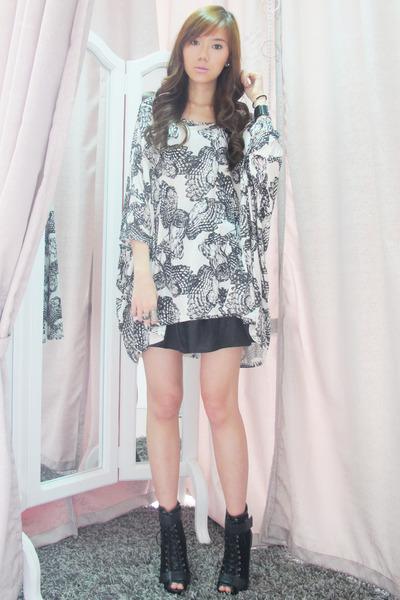 Topshop top - Topshop skirt - Aldo accessories - calvin klein - Forever 21 - Ald