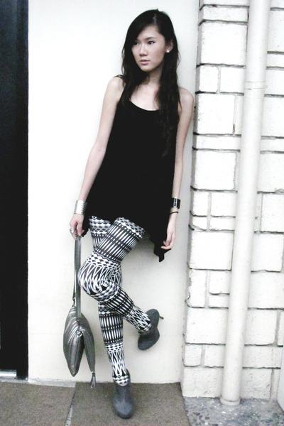 michael antonio shoes - from japan Luvlicous leggings - Mango purse - Zara top