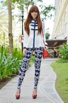 Coexist Prt top - SM GTW leggings