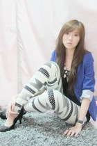 Coexist httpcoexistonlinemultiplycom blazer - Topshop top - Hong Kong leggings -
