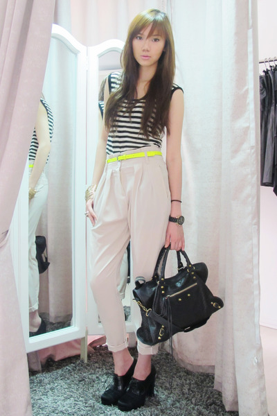 balenciaga - lanvin shoes - Topshop top - from hong kong pants - Michael Kors -