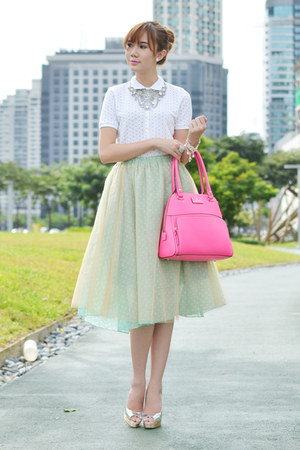 SM GTW skirt - Muji shirt - thomas sabo bracelet