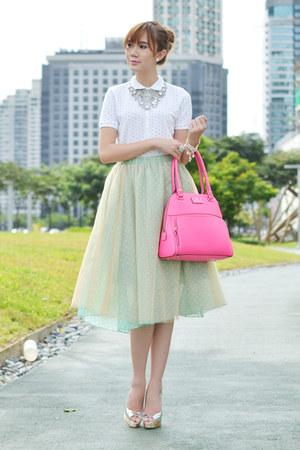 SM GTW skirt - Muji shirt - thomas sabo bracelet