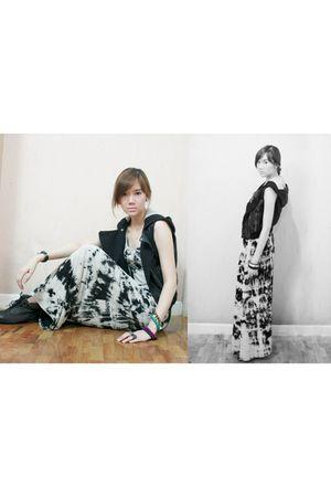 Dorothy Perkins dress - Topshop vest - Topshop boots - new look accessories - Al