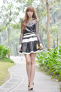 Worn-as-top-korean-rose-dress-oasap-skirt