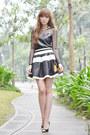 Worn-as-top-korean-rose-dress-oasap-skirt
