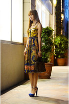 Monkee Business skirt - Fayeness necklace