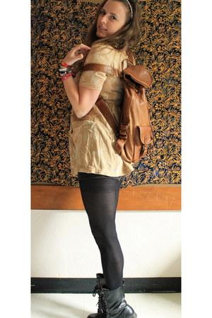 camel Aldo bag