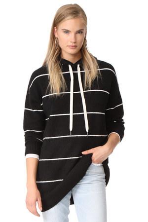 shawl neck Alice  Olivia hoodie