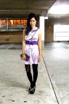 Howard Showers belt - dress - vintage - Sachi Platforms shoes - accessories
