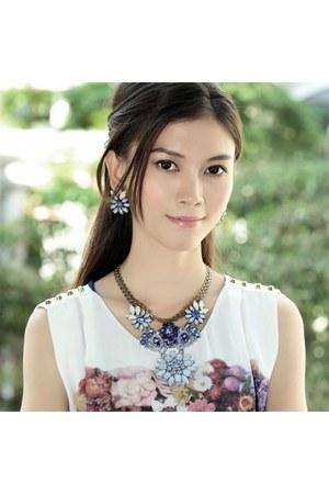 Lulu Frost necklace - Lulu Frost earrings