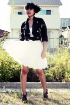 petro zillia jacket - Zara dress - from japan skirt - accessories - Possibility