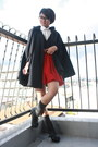 Blue-forever-21-accessories-navy-american-apparel-cape-white-shirt