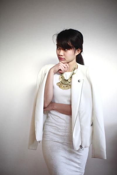 white Forever New skirt