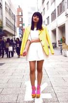 yellow vintage Celine blazer
