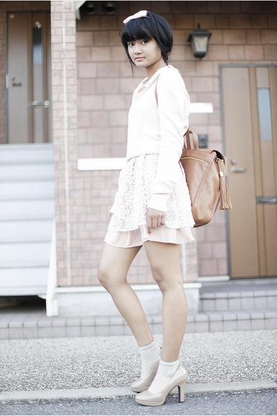 light pink Dahlia dress