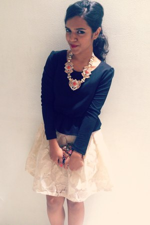 creo dress - creo necklace
