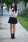 Black-oasap-skirt
