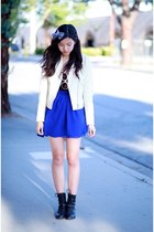 blue OASAP skirt