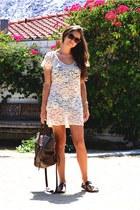 ivory lace zinke dress