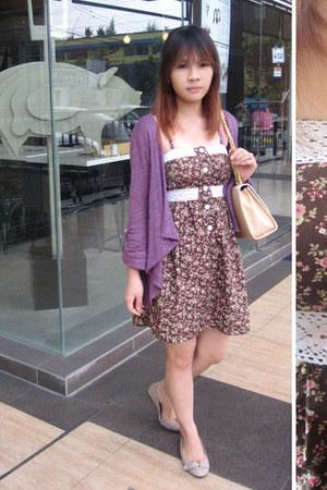 crimson Sparkle Shop dress - light purple Forever 21 blazer