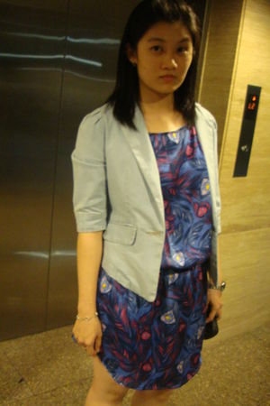 H&M dress - random from Hong Kong blazer
