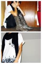 shirt - socks - scarf - shoes