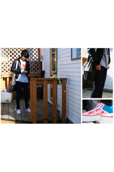 shirt - jacket - Vans shoes