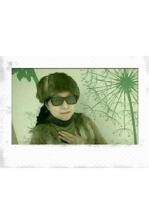 black black Bazaar sunglasses